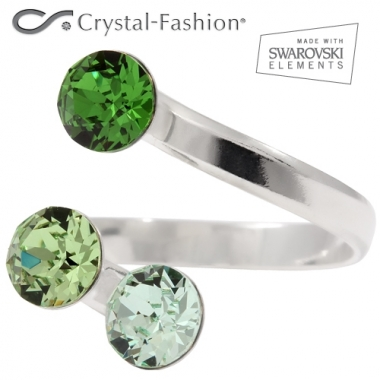 Tripple Xirius 6mm adj Chrysol-Peridot-DarkMossGreen
