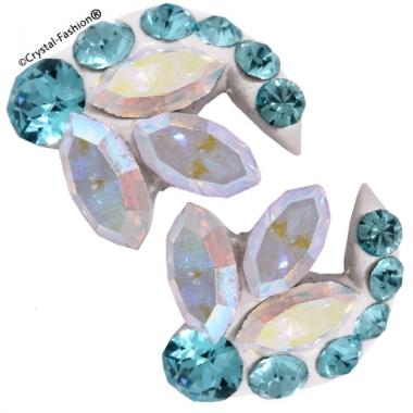 Crystals for nails: Navette U12 (8mm)
