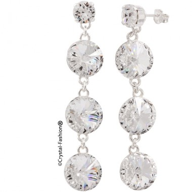 Long Rivoli r 12 Earrings