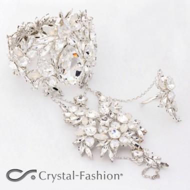 Extended Elastic Royal Antler Hand Jewel