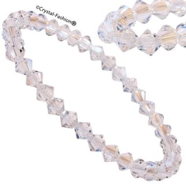 Elastic Bicone 5 Bracelet