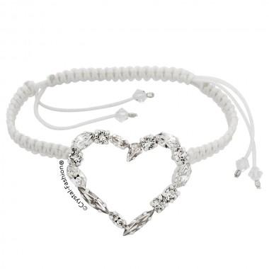 Heart In Love Shamballa 3.5cm