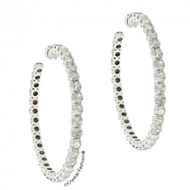 Large Vertical  Earrings 8,3cm