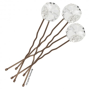 Rivoli Hair Pin 14mm