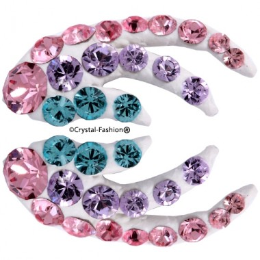 Crystals for nails: Coral U10 (12mm)