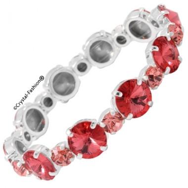 Rivoli-Chaton Elastic Bracelet (10/ss29)