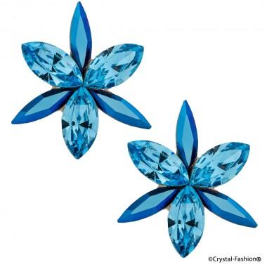 Navette Opus 2cm  s MetallicBlue-Aquamarine