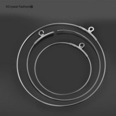 Round Earring Wire 45mm