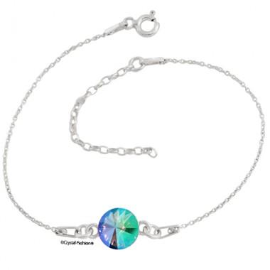 Silver Rivoli r 8 gl Bracelet