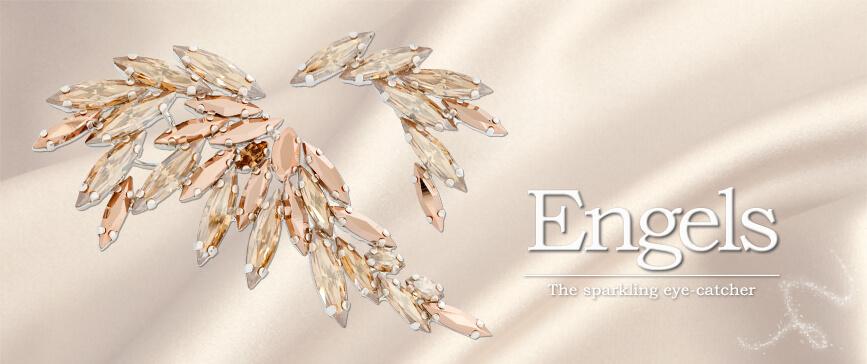 cercei cristale aripi swarovski